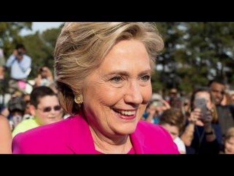 Clinton's 'blue wall' holding amid slippage