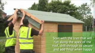 Mercia Gp - How To Build A Shed