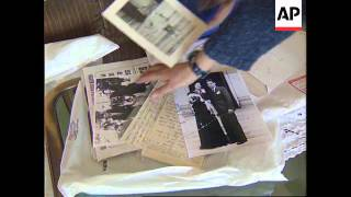 ITALY: FORMER NAZI SS CAPTAIN TO STAND TRIAL FOR WAR CRIMES
