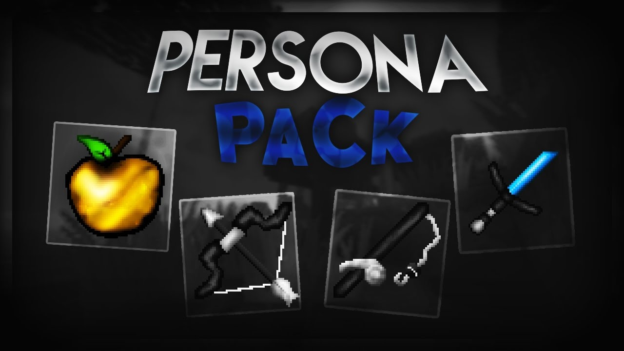 Minecraft PvP Texture Pack - Persona Pack
