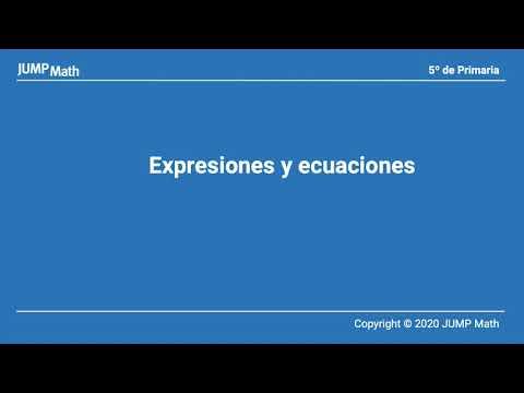 5.2. Unidad 10. Expresiones y ecuaciones