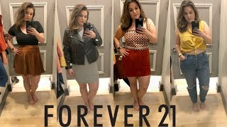 pre fall inside the dressing room at forever 21 plus kelly elizabeth