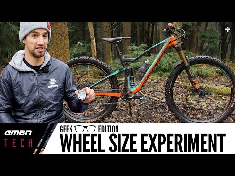 MTB Wheel Size Experiment | 29er Front & 27.5+ Rear Geek Edition