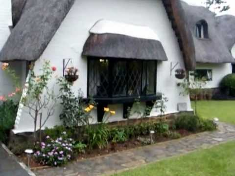 Virtual Tour Of English Cottage Thatch Home In Boughton
