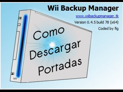 caratulas wii backup manager