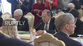 Russia  'Who is giving you your manners?' Lavrov scolds shouting US reporter