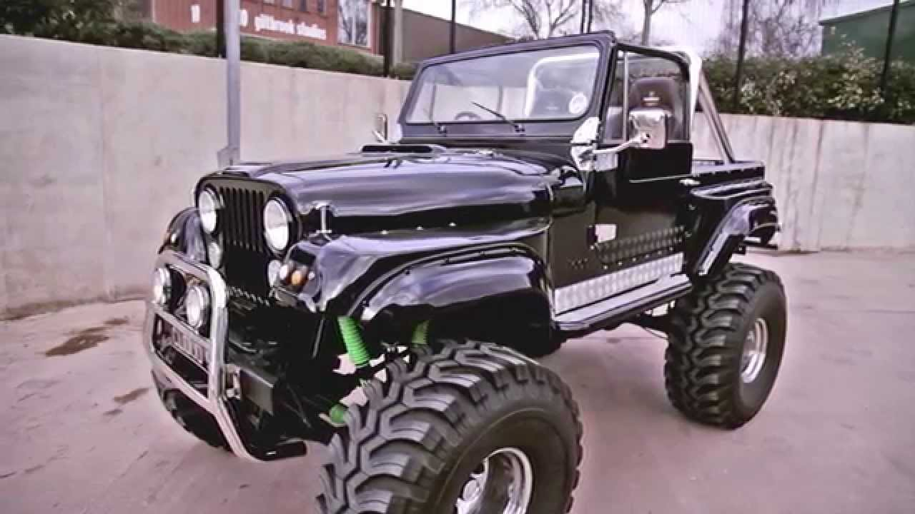 Cj7 Jeep Monster Truck 1978 For Sale Cloud9cars Youtube