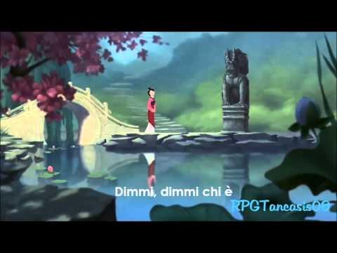 Riflesso (da Mulan Walt Disney) Karaoke lyrics + testo
