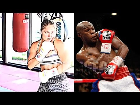 FLOYD MAYWEATHER WILL TRAIN RONDA ROUSEY AFTER KO LOSSES IF SHE'S WILLING 2 WORK WITH HIM (NICE!!)!!emoji!!79!!emoji!!
