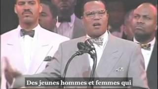 Farrakhan sur Malcolm X, avec Dr Betty Shabazz