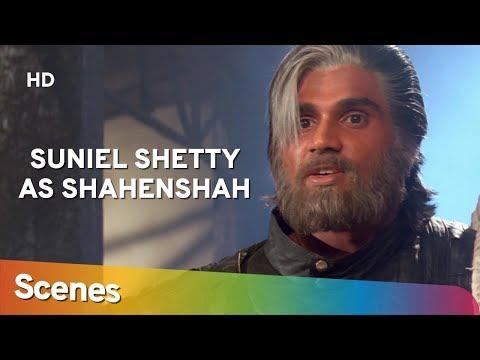 Suniel Shetty As Shehansah | Scenes  | Waqt Hamara Hai | Superhit Bollywood Movie
