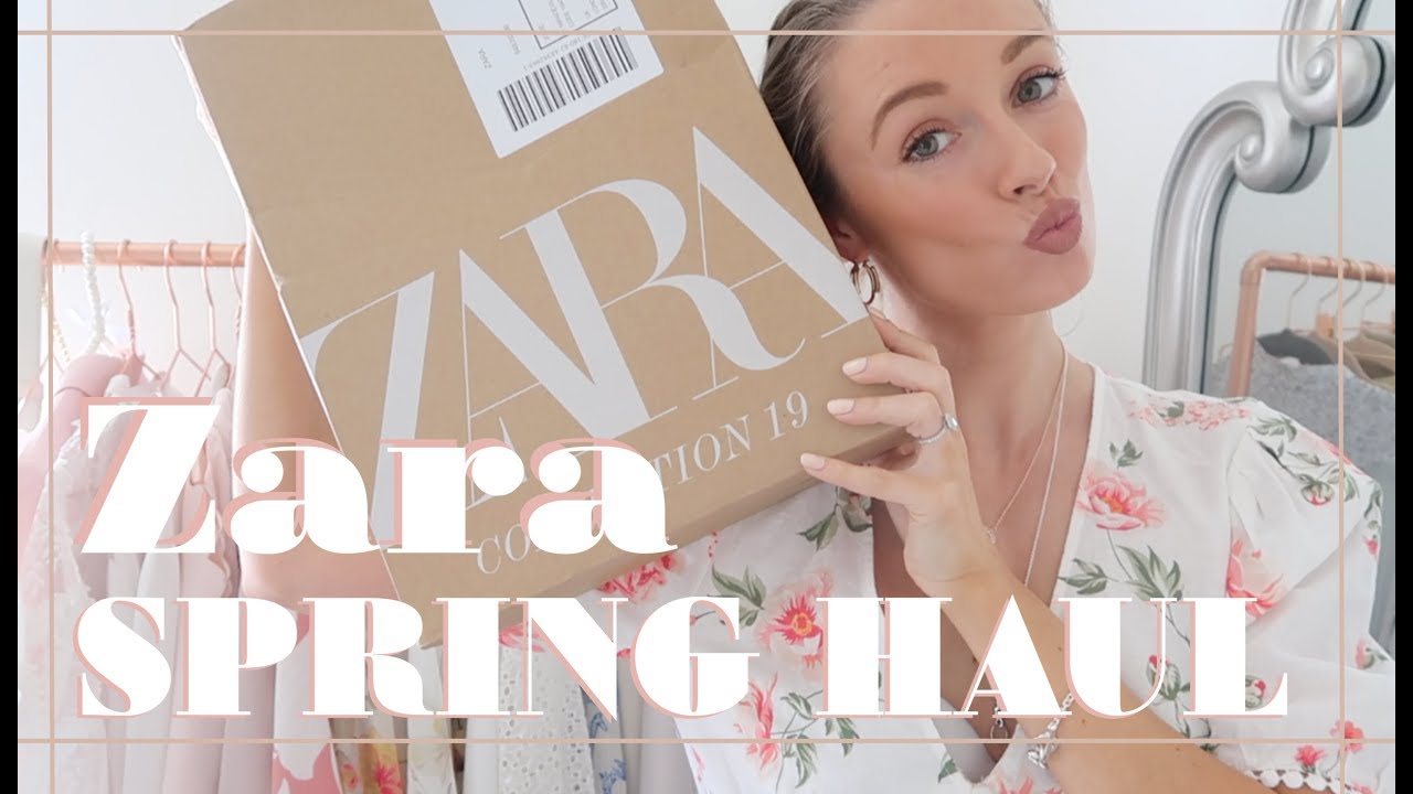 ZARA HAUL & TRY ON // Spring 2019 // Fashion Mumblr 1
