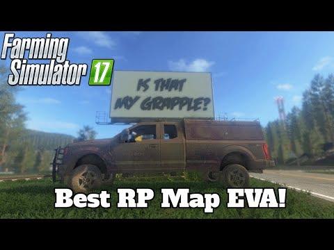 FS17 Mod Spotlight - EP. 51: Best RP Map EVA!