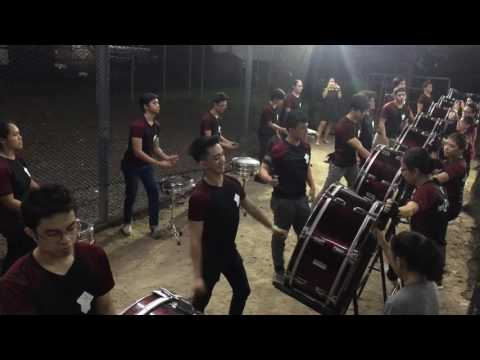 UP Pep Drummers AdUE Tribute