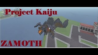 Roblox Project Godzilla/Kaiju - New Update + Dev Kaiju Zamoth VS ALL KAIJUS