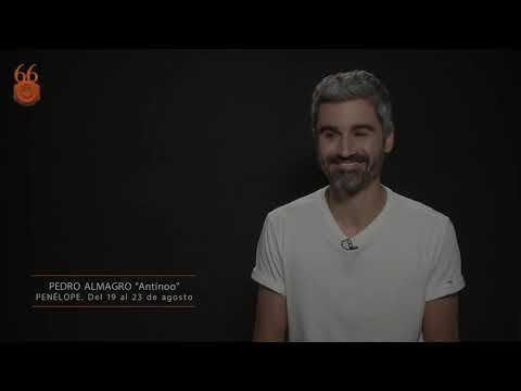 Pedro Almagro es Antínoo en