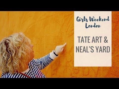 London in 2 days - Girls Weekend | Tate Modern, Covent Garden & Neal's Yard