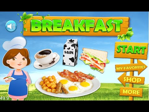 Breakfast Food Maker Android İos Free Game GAMEPLAY VİDEO