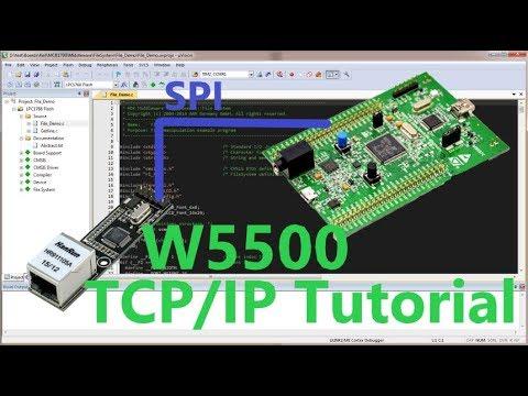 Stm32+W5500 TCP/IP Tutorial