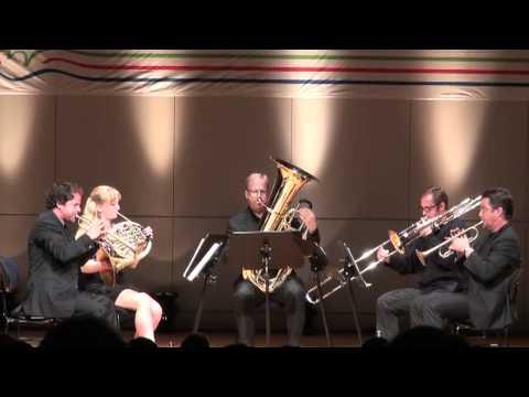 Stockholm Chamber Brass plays Telemann