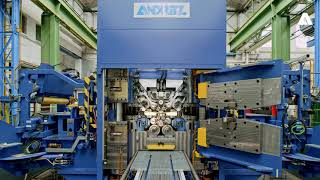ANDRITZ Metals: Assembly and testing of a 20-High Rolling Mill