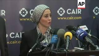 Muslim American group files travel ban lawsuit