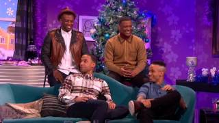 JLS on Alan Carr Chatty Man Christmas Special