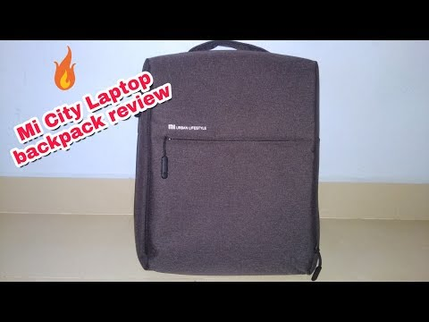 Mi Backpack Bag Laptopbag Mi City 16l Laptop Backpack Review Video