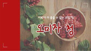 #2 수제 오미자청 만들기 /브이로그/요리/수제청