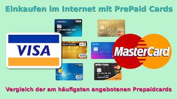 Prepaid Kreditkarten Vergleich VISA & MASTER CARD