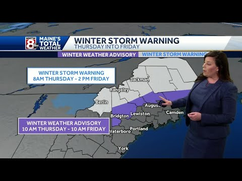 Thursday Total Weather Alert: Rain, Snow And Wind On The Way