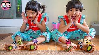 หนูยิ้มหนูแย้ม   ไม่สวมรองเท้า ละครสอนใจเด็ก