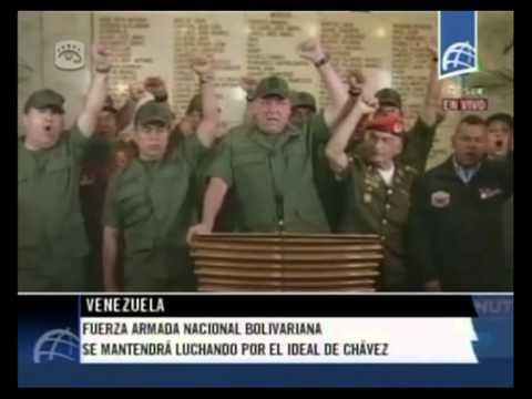 Cubavision Internacional - Muere Hugo Chavez 05.03.13