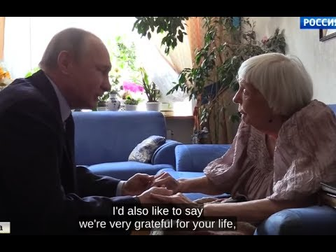 SURPRISE VISIT: Putin Congratulates 90th Birthday to Soviet Dissident & Human Rights Activist