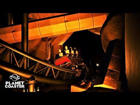 Planet Coaster | Universal Studios Hollywood🎬 | Ep.27 Revenge Of The Mummy - Dark Ride Zone