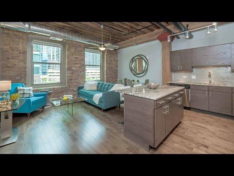 The Lofts at River East, a new 2-bedroom, 2-bath model