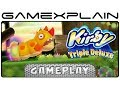 Kirby: Triple Deluxe - Level 1-3 Gameplay - Japanese 3DS