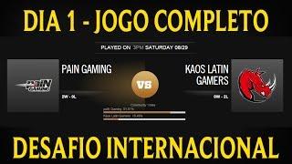 pain gaming vs kaos latin   png vs klg dia 1 jogo 3 desafio internacional 2015