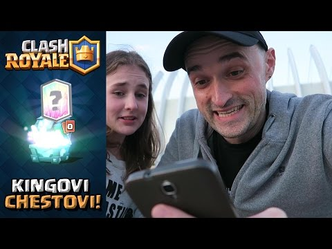 CLASH ROYALE - Kingovi chestovi!