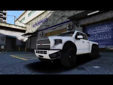GTA 5 - Vapid Caracara (Hennessey VelociRaptor 6x6)