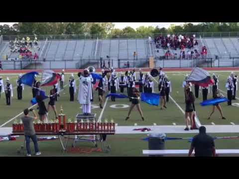 North Atlanta high school band competition on October 15th 2017