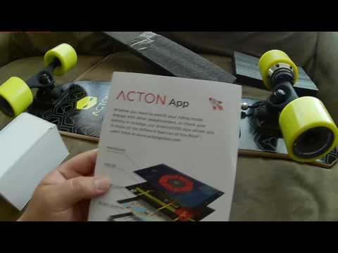 First review acton blink lite skateboard