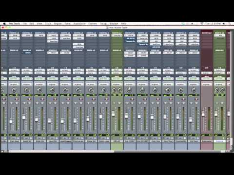 Master Faders In Pro Tools - TheRecordingRevolution.com