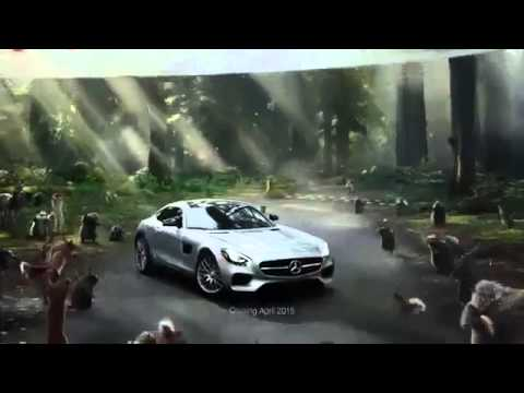 Mercedes benz 39 fable 39 commercial 60 super bowl xlix 2015 for Mercedes benz commercial