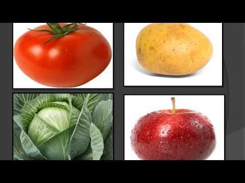 Дидактическая игра для детей: найди лиший овощ