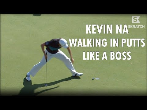 Kevin Na Master of Walking in Putts