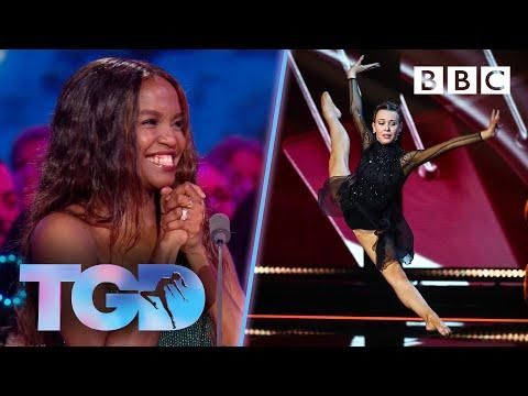Dancer Ellie FLAWLESS In Orchestra Challenge - The Greatest Dancer   LIVE