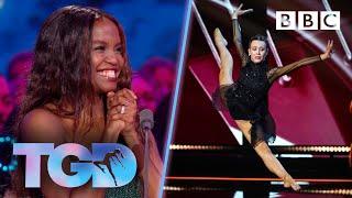 Dancer Ellie FLAWLESS in orchestra challenge - The Greatest Dancer | LIVE