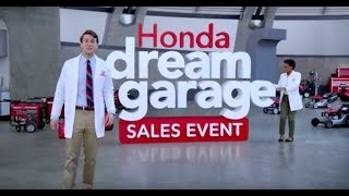 Honda: Honda Dream Garage Sales Event - Honda Generators