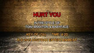 Toni Braxton & Babyface - Hurt You (Backing Track)